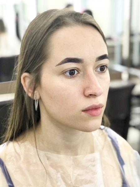 Коррекция бровей После - sisters-club